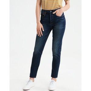 American Eagle Hi-Rise Girlfriend Jeans X-Short